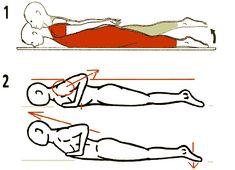 exercice de tonification dorso-lombaire