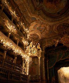 Markgräfliches Opernhaus, Bayreuth, Germany.