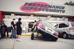 Jeff from Switches & Thangs stops by the Performance Improvements parking lot.  #lowrider