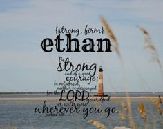 Ethan First Name Meaning Art Print-Name Meaning ...