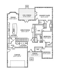 Home Remodeling Plans Floor Plan Main Level Best House Plans, Dream House Plans, Small House Plans, House Floor Plans, The Plan, How To Plan, Craftsman Style House Plans, Craftsman Ranch, Craftsman Houses