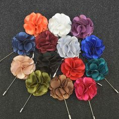 Find More Brooches Information about Wholesale New Fashion Handmade Cloth Flower Shape Brooches For Wedding Party Satin Cloth Flower Broch Men Lapel Pins 17 PCS/LOT,High Quality flower software,China flower hair clip accessories Suppliers, Cheap brooch flower from Sexy Clothing&Accessories on Aliexpress.com