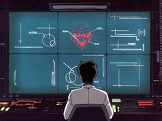 visualpunker:  Futuristic User Interface 01: Cyberpunk UI and Huds from Anime movies