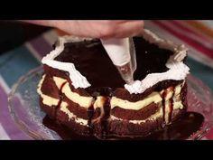 Tort cu crema de portocale - Retete prajituri (100 de secrete dulci - Unirea) - YouTube