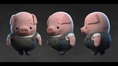 The Dam Keeper Pig Walkcycle ---A Day of The Dam Keepers #2