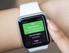 True Potential Investor Apple Watch allows Apple Watch users to track their investments and top-up directly from their device quickly and easily.