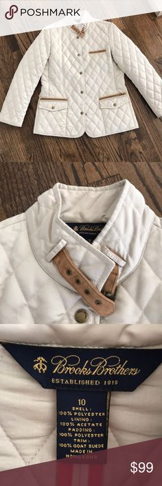 Women's Brooks Brothers Quilted Jacket! -beautiful coat  -no flaws -retails for $250 Brooks Brothers Jackets & Coats