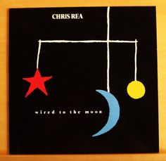 CHRIS REA Wired to the Moon Vinyl LP Bombolini Touché d Amour Ace of Hearts RARE