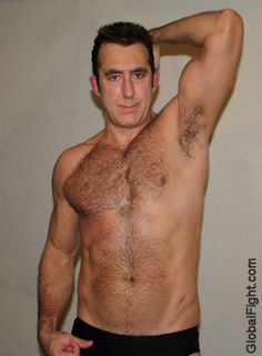 gay man hairy armpits