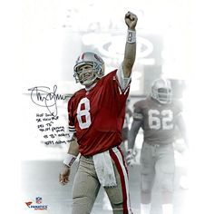 "Steve Young San Francisco 49ers Fanatics Authentic Autographed 16"" x 20"" Spotlight Photograph with Multiple Inscriptions - $299.99"