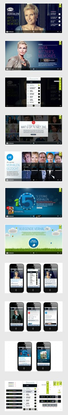 Magazine for dutch tv channel KRO surrounding their tv programs. The entire magazine was designed and optimized for all devices.    By: Ronald Vermeijs