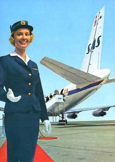 sas stewardess