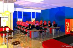 Internet cafe | Design - Layout Planning | Pinterest ...