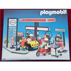 1980s Playmobil Esso Garage Set 3434 Boxed and Sealed | Sanctuary Antiques