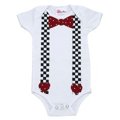Mr. Sweetheart Baby OnesieFunny Baby by LollipopMoonBoutique, $26.00