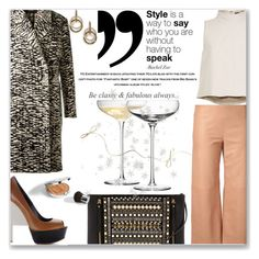 """You say it best, when you say nothing at all∞"" by mood-chic ❤ liked on Polyvore featuring TIBI, Chloé, Ruthie Davis, Lanvin, Vince Camuto, Judith Jack, LSA International and holidaystyle"