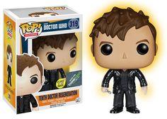 Doctor Who: 10th Doctor Regeneration Pop figure by Funko, ThinkGeek and Gamestop exlcusive