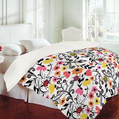 Rebekah Ginda Design Heatwave Duvet Cover