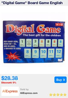 """""""Digital Game"""" Board Game English Edition Israel Puzzle Game For Boys And Girls The Best Gift For Children ,Easy To Play * Pub Date: 00:14 May 8 2017"""