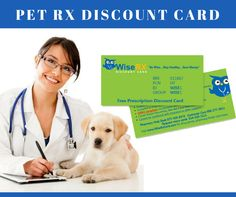 Get your free Pet prescription discount card at wiserxcard to receive pharmacy discount of up to 85% on your pet's medications.