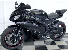 2006 Yamaha YZF R6 Black 8k 06 R-6 Custom Exhaust - EXCELLENT! - Motorcycles - Milford - Connecticut - announcement-28102 Yamaha R6 Black, Yamaha Motorcycles, Yamaha Yzf R6, Sport Motorcycles, Milford Connecticut, Scooters, Custom Sport Bikes, Sportbikes, Bike Parts