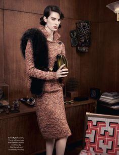 Skirt suits, uniforms, amazing dresses... — Marte Mei Van Haaster by Ben Toms