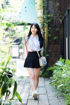Cute Korean, Korean Girl, Asian Girl, Korean Style, Girls In Mini Skirts, Cute Japanese Girl, Cosmic Girls, Curvy Women Fashion, Girl Bands