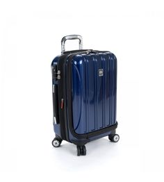 Delsey Helium Aero International Carry-On Expandable Spinner 07640 Cobalt Blue