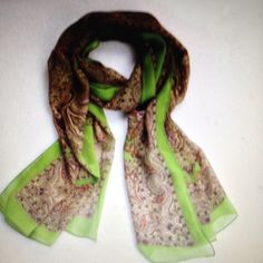 Soft chiffon scarf Very beautiful and soft long chiffon scarf. Accessories Scarves & Wraps