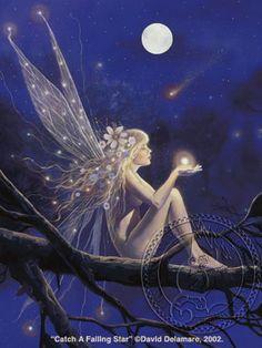 Catch A Falling Star by David Delamare.