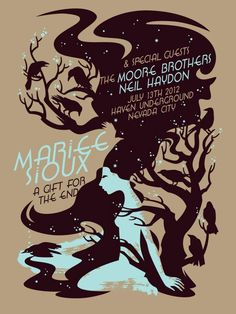 Mariee Sioux gig poster