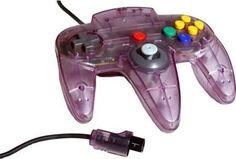 Official Nintendo 64 OEM Controller Atomic Purple N64 NUS-005