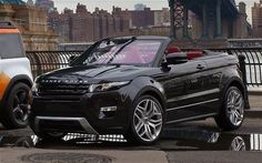 Range Rover Evoque Convertible.........Why they haven't reached the US yet, I'll never know.