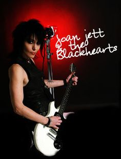 Joan Jett the Blackhearts Rock And Roll Bands, Rock N Roll, Music Mix, My Music, Rock Queen, Feminist Icons, Joan Jett, Types Of Music, Girl Bands