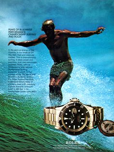 Single-Red Submariner Surf Ad