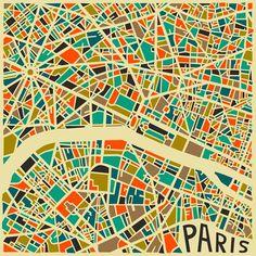 Abstract Cities – Les cartes stylisées des grandes villes