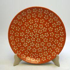 """10"""" Dinner Plate (Modern Orange)"""
