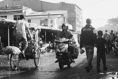 Market activity . Pasar andir , Bandung , Indonesia . Nikon D3000 with 50mm lens f/1.8 Ais
