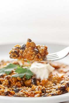 Watch the video and learn how to make this hearty Vegetarian Quinoa Chili. It makes for a quick and easy dinner recipe you and your family will absolutely love! #quinoa #easyrecipe #easyrecipes #chili #dinner #dinnerrecipes #mealplan #mealprep #mealprepmonday #homecooking #healthyrecipes #highprotein #highproteinrecipes #fitfood
