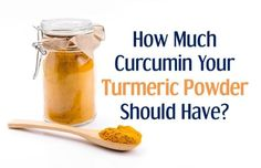 Mystery Solved - How Much Curcumin Your Turmeric Powder Should Have