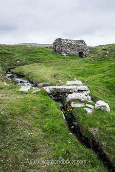 Old watermills on Shetland's Westside, so pretty even in the rain // Shetland