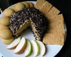 Edesia's Notebook: Peanut Butter Cheeseball