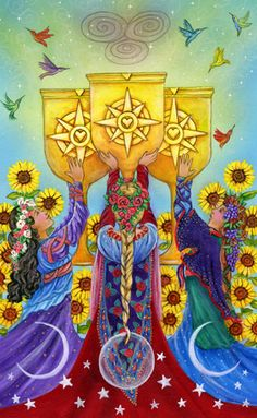 Star Tarot - Cathy McClelland - If you love Tarot, visit me at www.WhiteRabbitTarot.com