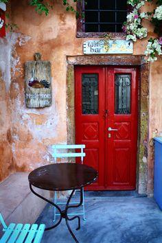 ~Wine Bar in Oia, Santorini, Greece~  #oiareece  #shops  #nolink