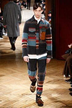 Kolor FW17.  menswear mnswr mens style mens fashion fashion style kolor runway