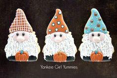 Fall gnome cookies. Yankee Girl Yummies