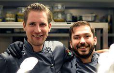 Michael Kempf und sein Souschef Joachim Gerner aus dem Facil im Berliner Hotel Mandala