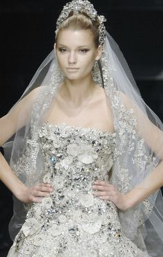 #bridal #couture #Elie Saab