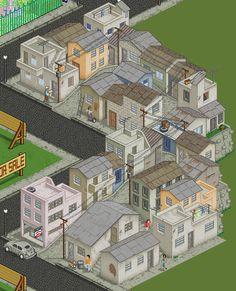 """""""Barrio Chapellin"""" final by daporta.deviantart.com on @deviantART"""