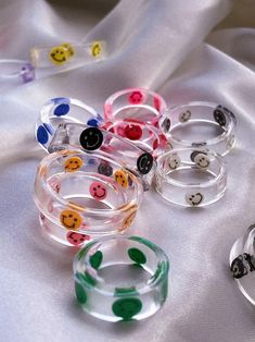 Funky Jewelry, Hand Jewelry, Resin Jewelry, Cute Jewelry, Jewelry Accessories, Diy Rings, Cute Rings, Diy Resin Art, Nail Ring